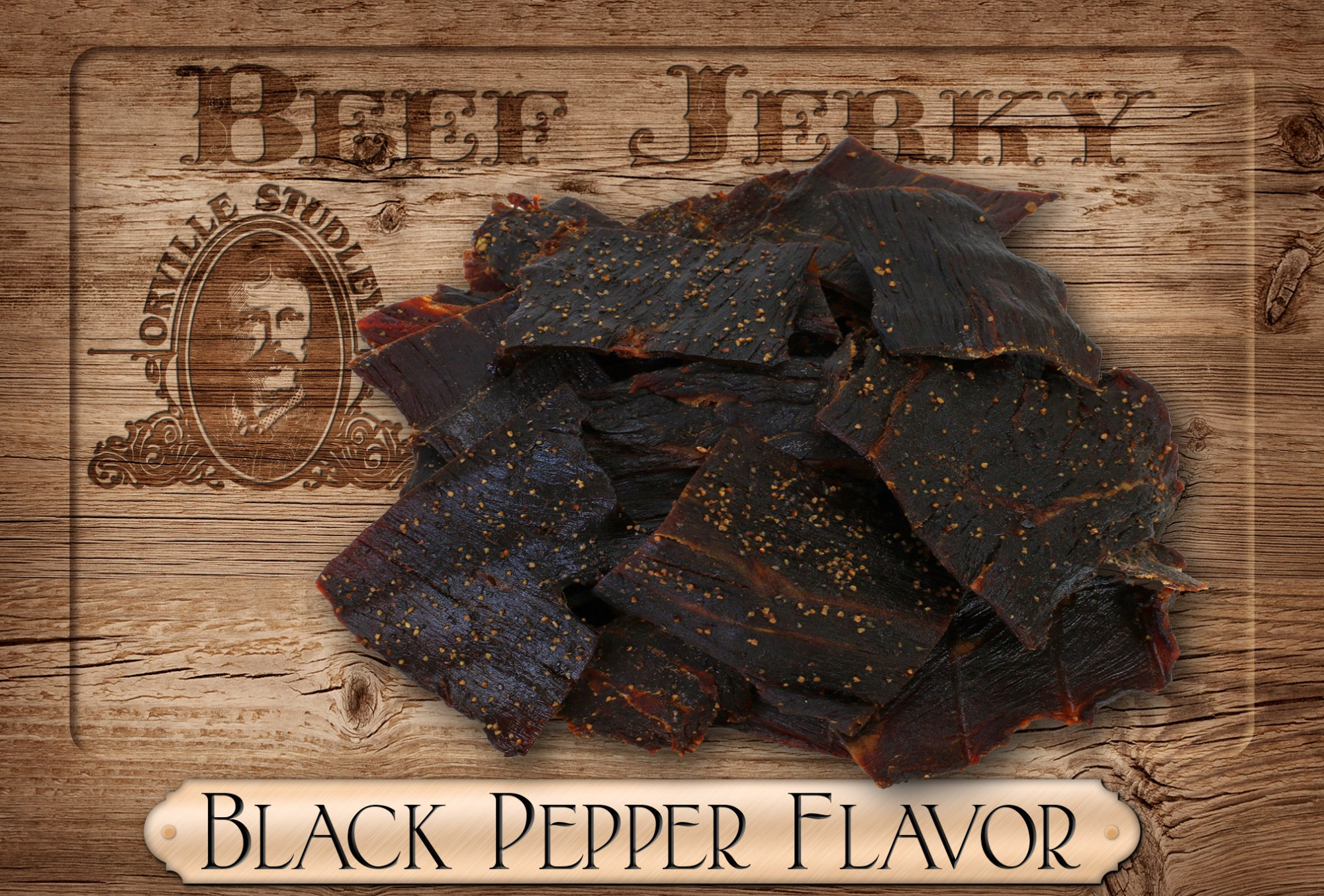 Best Black Pepper Beef Jerky by Orville Studley