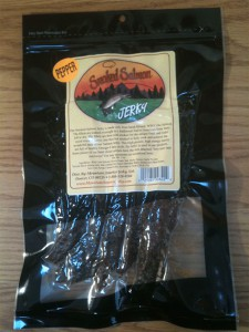 Smoked Salmon Pepper Jerky