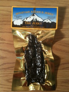 Yak Exotic Meats Jerky
